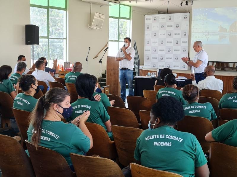 DIA NACIONAL DOS AGENTES DE COMBATE A ENDEMIAS FOI COMEMORADO NA CIDADE