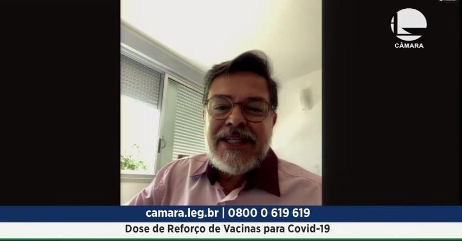 GRUPO DE TRABALHO DEBATE DOSE DE REFORÇO DE VACINA CONTRA A COVID-19