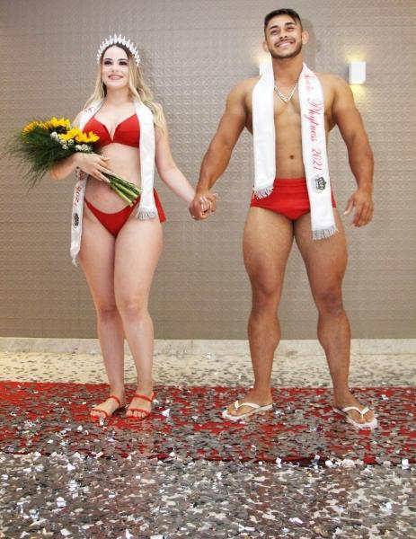 Garoto e Garota Phytness 2021:  Alef Borges (Shape Fitness) e Denise Torres (Exclusive Personal Studio)